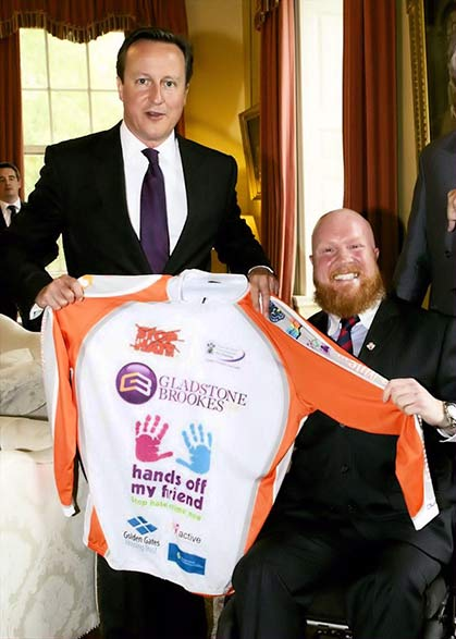 Adrian Derbyshire meets David Cameron