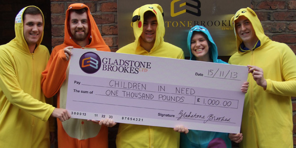 Charity of the month - Children In Need