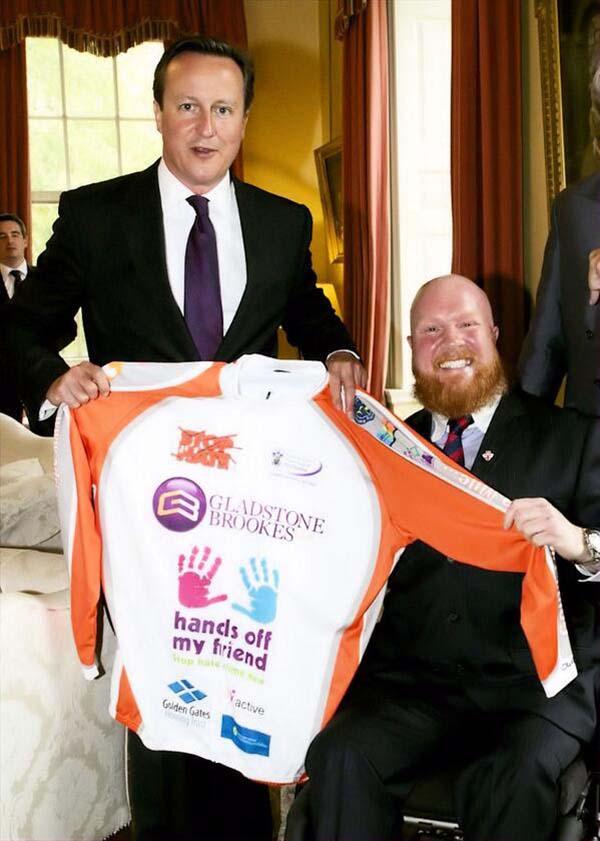 Adrian meets David Cameron