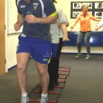 Craig leads the way on circuit training