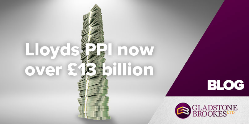 LLoyds PPI tops £13 billion