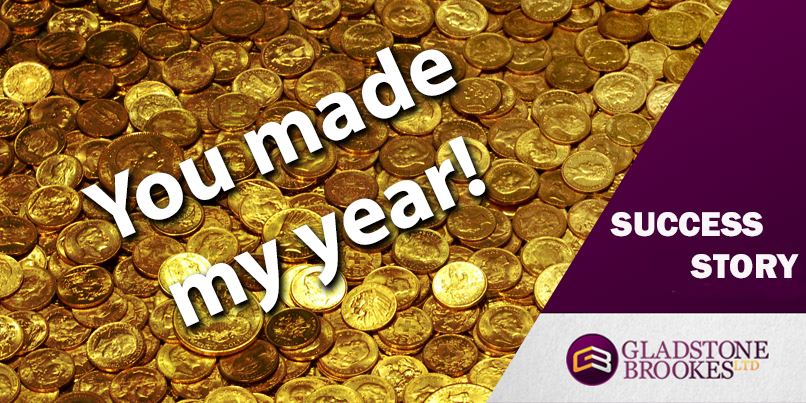 SUCCESS STORY – You made my year!