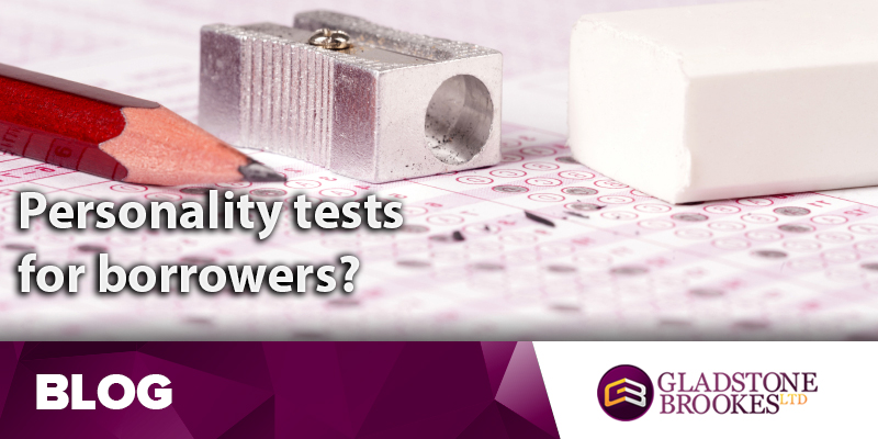 Personality tests for borrowers?