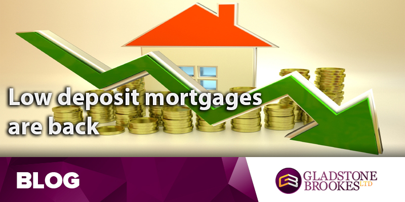 Top lenders now offering low deposit mortgages