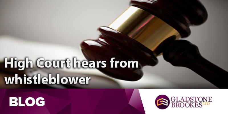 High Court hears from whistleblower