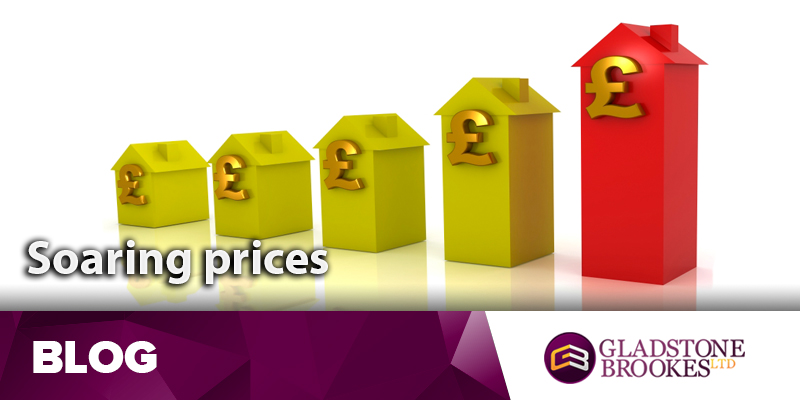 Soaring house prices