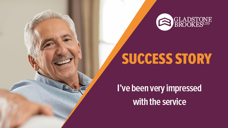 SUCCESS STORY – I have been very impressed with the service