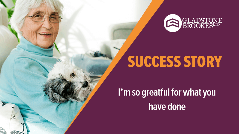 SUCCESS STORY – I'm so grateful for what you have done