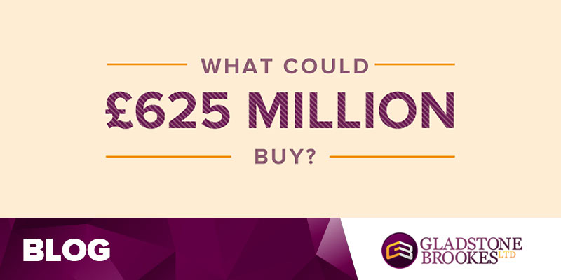 What could £625 million buy?