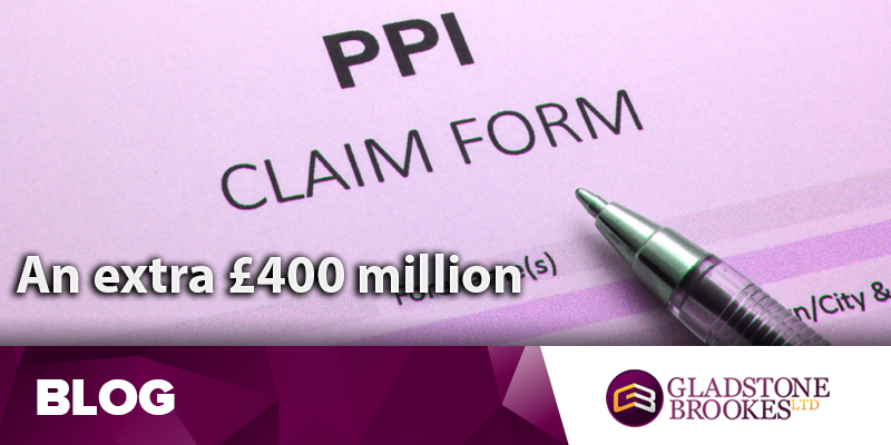 Barclays add £400 million for PPI