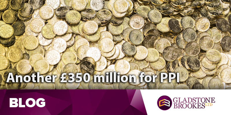 Lloyds add yet another £350 million for PPI