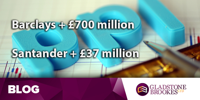 Barclays add £700 million for PPI