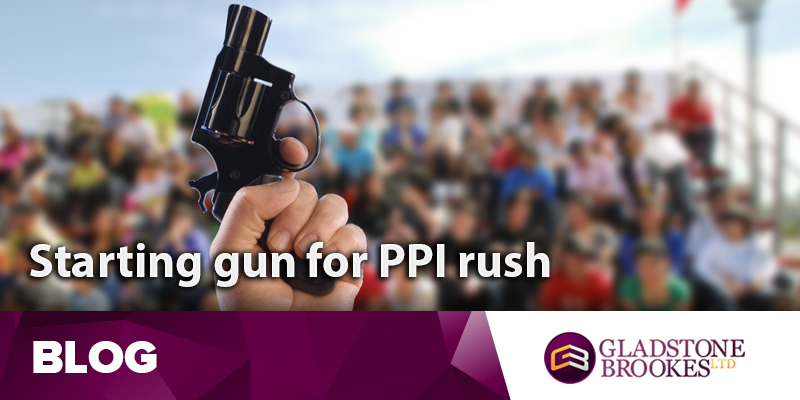Starting gun about to fire for PPI claims rush