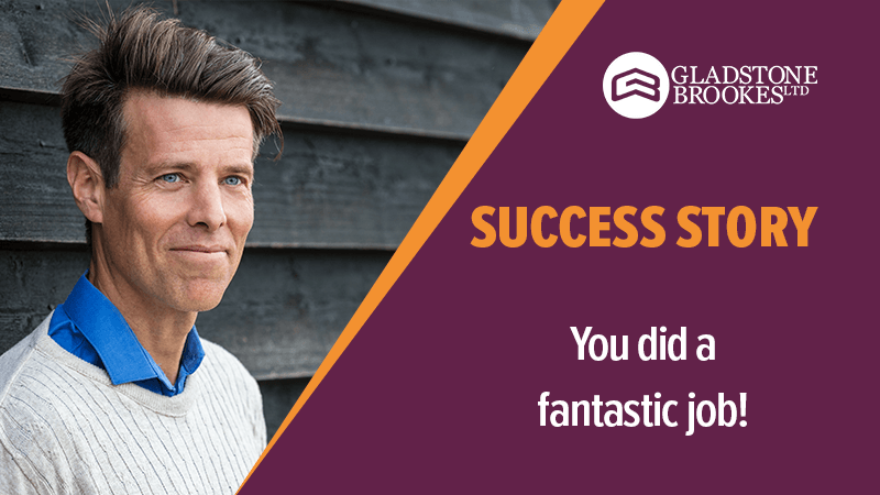 SUCCESS STORY – You did a fantastic job!