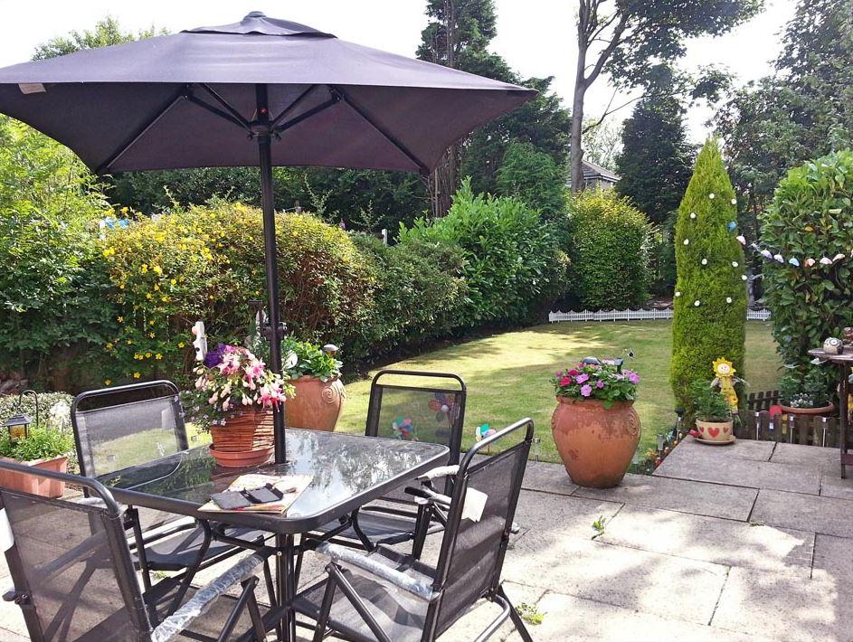 new house - new garden