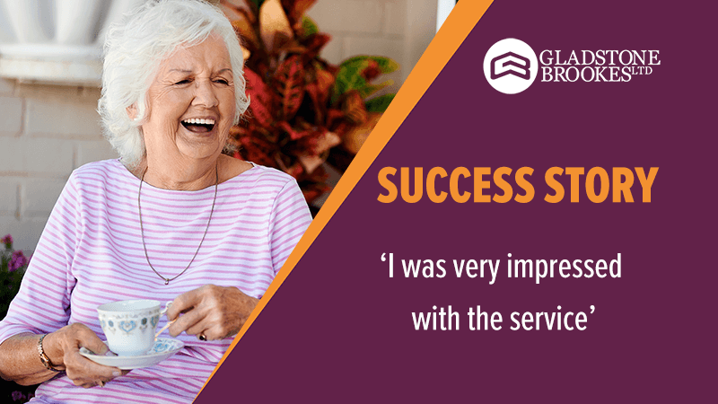 SUCCESS STORY – 'I was very impressed with the service'